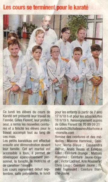 Article la tribune du 29 06 17